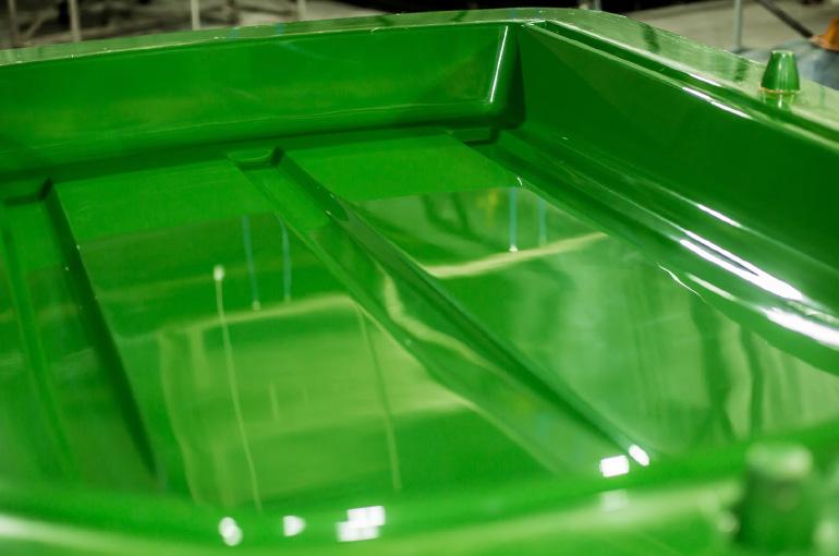 Moldes para peças de fibra de vidro